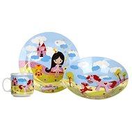 BANQUET Dětská 3 dílná sada Little Princes A11675 - Dětská jídelní sada
