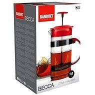 BANQUET Konvice na čaj a kávu BECCA 1l A00012 - French press