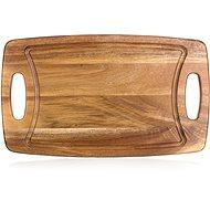 BANQUET Prkénko krájecí dřevěné PREMIUM Dark Brown - Prkénko