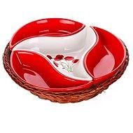 BANQUET RED POPPY 23 cm A00831 - Sada misek