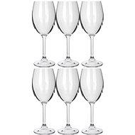 BANQUET Sada sklenic 6ks Leona Crystal bílé víno 230ml A11304 - Sklenice na víno