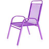 HAPPY GREEN Židle dětská fialová - Zahradní židle