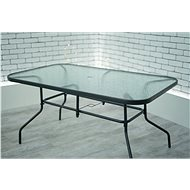 La Proromance Verre 150 Table with Glass Plate - Garden Table