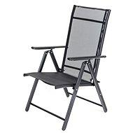 HAPPY GREEN Židle zahradní polohovací RAMONA, antracite - Zahradní židle
