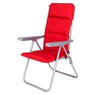 HAPPY GREEN Židle zahradní skládací LOARA, červená - Zahradní židle