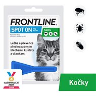 Frontline Spot -  for Cats - Antiparasitic Pipette