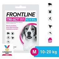 Frontline Tri-act Spot-on for Dogs M (10 - 20kg) - Antiparasitic Pipette