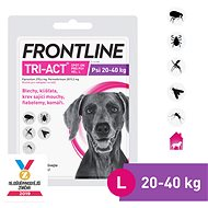 Frontline Tri-act Spot-on for Dogs L (20 - 40kg) - Antiparasitic Pipette