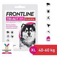 Frontline Tri-act Spot-on for Dogs  XL (40 - 60kg) - Antiparasitic Pipette