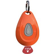 Max & Molly ZeroBugs, Ultrazvukový repelent na klíšťata a blechy, oranžový - Ultrazvukový repelent