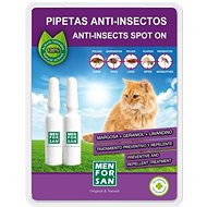 Menforsan Antiparasitic Pipettes for Cats, 2pcs - Antiparasitic pipette