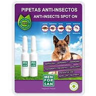 Menforsan Antiparasitic Pipettes for Dogs, 2pcs - Antiparasitic pipette