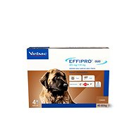 Effipro DUO XL Spot-on for Dogs 40-60kg, 4 Pipettes - Antiparasitic Pipette