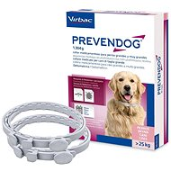 Prevendog 1,304g Medicated Dog Collar 25kg and More, 2 pcs - Antiparasitic Collar