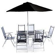 V-Garden VeGAS 6 se slunečníkem - Zahradní nábytek