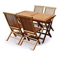 V-Garden VeGa TEAK POHODA SET 4 - Zahradní nábytek