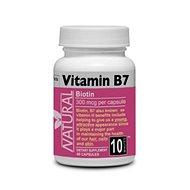 Biotin Vitamin B7, 60 Tablets - Vitamin B