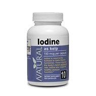 Iodine, 150mcg, 100 Capsules - Iodine