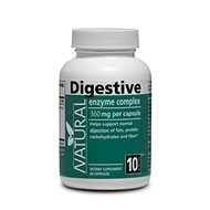 Digestive Enzymes 360mg, 60 Capsules - Digestive Enzymes