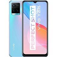 Vivo Y21s gradientní stříbrná - Mobilní telefon