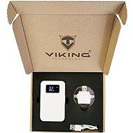 Viking dárková sada Powerbanka GO10 bílá + Čtečka paměťových karet 4v1