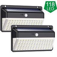 Viking venkovní solární LED světlo s pohybovým senzorem VIKING D118 SET - Venkovní světlo