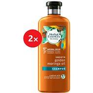 Herbal Essence Smooth Golden Moringa 2× 400 ml - Šampon