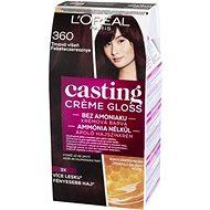 ĽORÉAL CASTING Creme Gloss 360 Tmavá višeň - Barva na vlasy