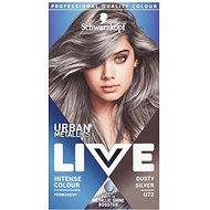 SCHWARZKOPF LIVE Urban Mettalics U72 Dusty Silver - Barva na vlasy