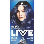 SCHWARZKOPF Live Urban Mettalics U67 Blue Mercury - Barva na vlasy