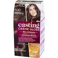 ĽORÉAL CASTING Creme Gloss 500 Kaštanová - Barva na vlasy