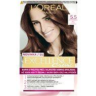 L'ORÉAL PARIS Excellence  5.5 Světlá mahagonová hnědá - Barva na vlasy