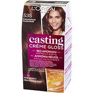 ĽORÉAL CASTING Creme Gloss 535 Čokoládová - Barva na vlasy