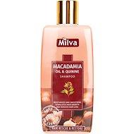 MILVA Makadamiový olej a Chinin 200 ml - Přírodní šampon