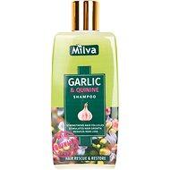MILVA Česnek a Chinin 200 ml - Přírodní šampon