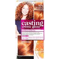 ĽORÉAL CASTING Creme Gloss 834 Zlatý karamel - Barva na vlasy