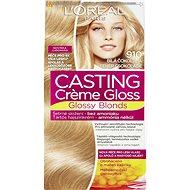 ĽORÉAL CASTING Creme Gloss 910 Blond ledová - Barva na vlasy
