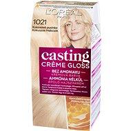 ĽORÉAL CASTING Creme Gloss 1021 Blond světlá perleťová - Barva na vlasy