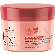 SCHWARZKOPF PROFESSIONAL BC Bonacure Peptide Repair Rescue Deep Nourishing 200ml - Hair Mask