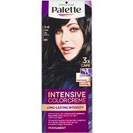 SCHWARZKOPF PALETTE Intensive Color Cream 1-0 (N1) Intenzivní černý - Barva na vlasy
