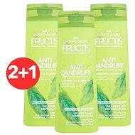 GARNIER Fructis Antidandruff 2v1 Shampoo 3 × 400 ml