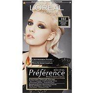 ĽORÉAL PARIS Préférence 102 Světlá blond duhová - Barva na vlasy