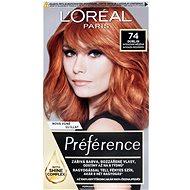 ĽORÉAL PARIS Préférence 74 Mango Intenzivní měděná - Barva na vlasy