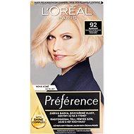 ĽORÉAL PARIS Féria Préférence 92 velmi světlá blond duhová - Barva na vlasy
