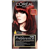 ĽORÉAL PARIS Préférence P37 Pure Plum Intenzivní tmavá červená - Barva na vlasy