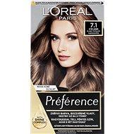 ĽORÉAL PARIS Récital Préférence Island 7.1 blond popelavá - Barva na vlasy