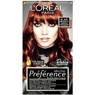 ĽORÉAL PARIS Préférence Paris Couture Brooklyn 6.45 intenzivní měděná hnědá - Barva na vlasy