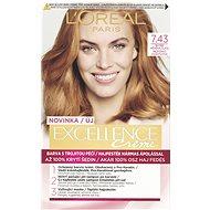 ĽORÉAL PARIS Excellence Creme 7.43 Blond měděná zlatá - Barva na vlasy