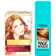 ĽORÉAL PARIS Excellence Creme 7.3 + Magic Retouch 5 - Kosmetická sada