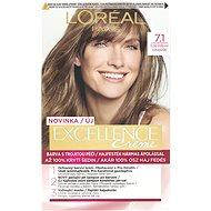 ĽORÉAL PARIS Excellence Creme 7.1 Blond popelavá - Barva na vlasy